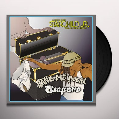 Starchild Jr. HAND ME DOWN DIAPERS Vinyl Record