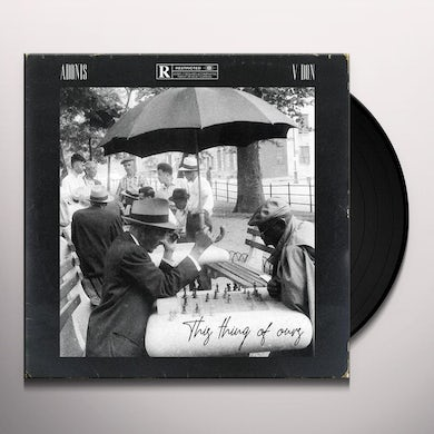 Adonis X V Don THIS THING OF OURS Vinyl Record