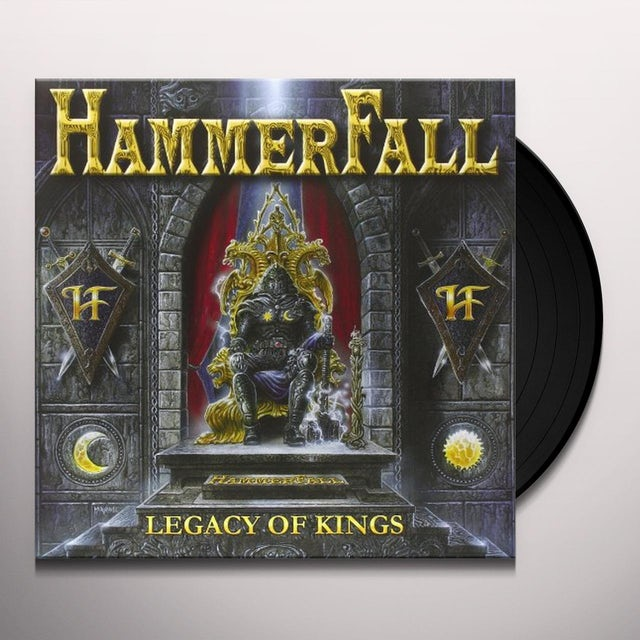 HammerFall LEGACY OF KINGS Vinyl Record