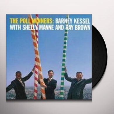 Barney Kessel POLL WINNERS Vinyl Record - 180 Gram Pressing
