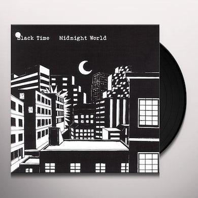 Black Time MIDNIGHT WORLD Vinyl Record