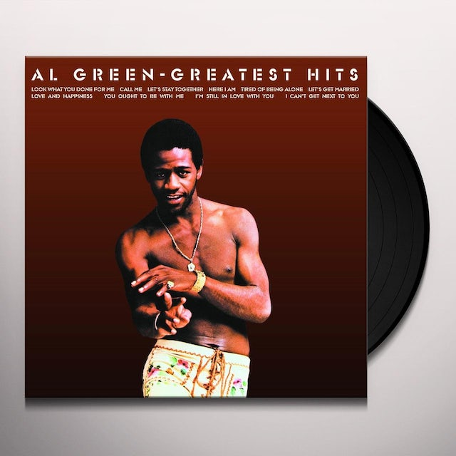 Al Green Greatest Hits - Limited Edition 180 Gram LP Vinyl Record