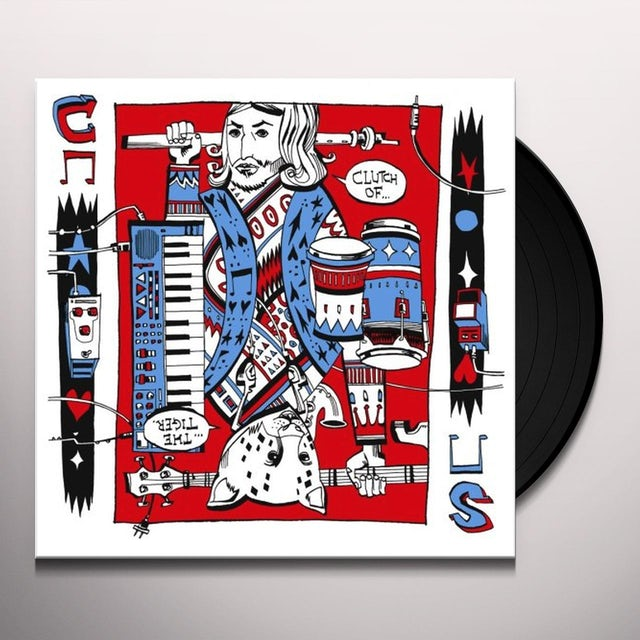Shawn Lee / Clutchy Hopkins CLUTCH OF THE TIGER Vinyl Record