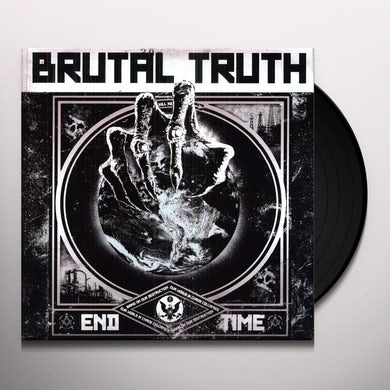 Brutal Truth END TIME Vinyl Record
