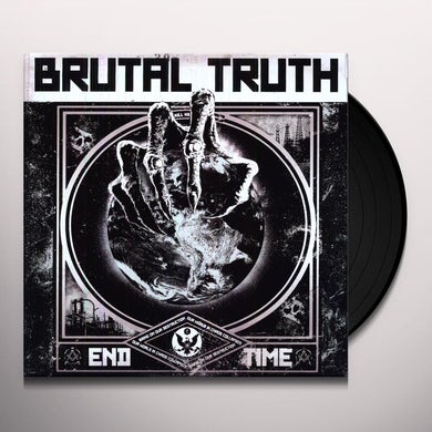 Brutal Truth END TIME Vinyl Record - Holland Release