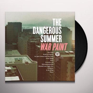 The Dangerous Summer WAR PAINT Vinyl Record