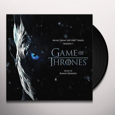 RAMIN DJAWADI GAME OF THRONES SEASON 7 - TV Original Soundtrack Vinyl Record