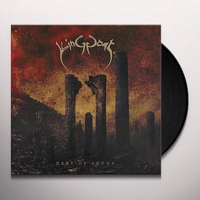 King Goat DEBT OF AEONS Vinyl Record