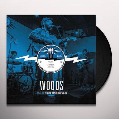 Woods LIVE AT THIRD MAN RECORDS Vinyl Record