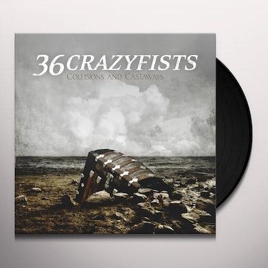 36 Crazyfists COLLISIONS & CASTAWAYS Vinyl Record