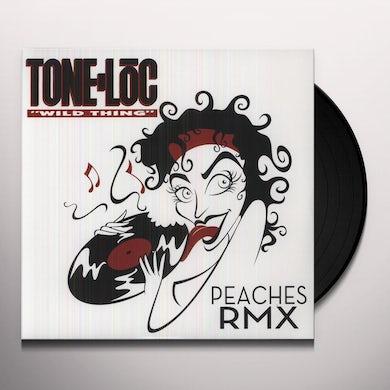 Peaches WILD THING (REMIX) Vinyl Record - Remix