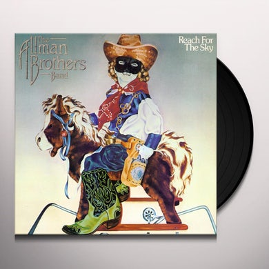 The Allman Brothers Band  Reach for The Sky Vinyl Record