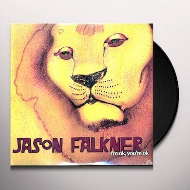 Jason Falkner I'M OK YOU'RE OK Vinyl Record