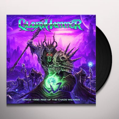 Gloryhammer SPACE 1992: RISE OF THE CHAOS WIZARDS Vinyl Record