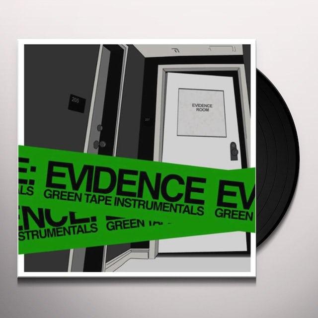 Evidence GREEN TAPE INSTRUMENTALS Vinyl Record