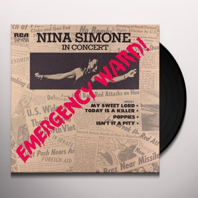 Nina Simone EMERGENCY WARD Vinyl Record