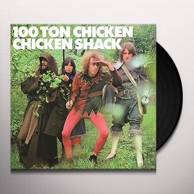 Chicken Shack 100 TON CHICKEN Vinyl Record