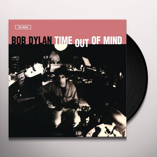 Bob Dylan TIME OUT OF MIND Vinyl Record - Holland Release