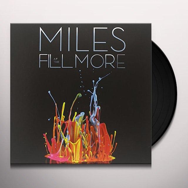 Miles Davis BOOLEG SERIES 3: LIVE AT THE FILMORE Vinyl Record - Holland Release