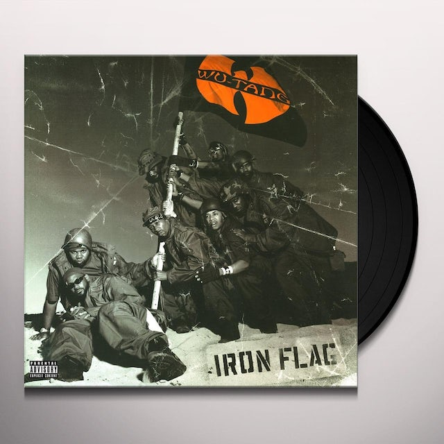 Wu Tang Clan Iron Flag Vinyl Record