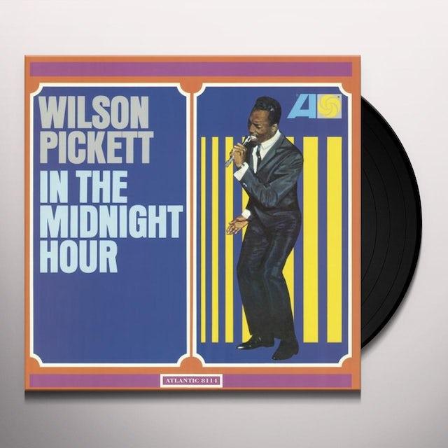 Wilson Pickett IN THE MIDNIGHT HOUR Vinyl Record - Holland Release