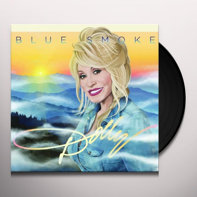 Dolly Parton Vinyl   Blue Smoke Holland Import