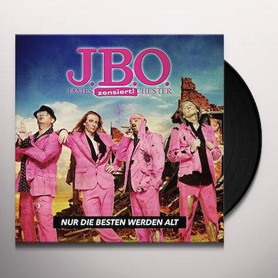 J.B.O. NUR DIE BESTEN WERDEN Vinyl Record