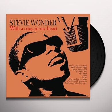 Stevie Wonder  WITH A SONG IN MY HEART Vinyl Record