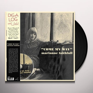 Marianne Faithfull COME MY WAY Vinyl Record - w/CD