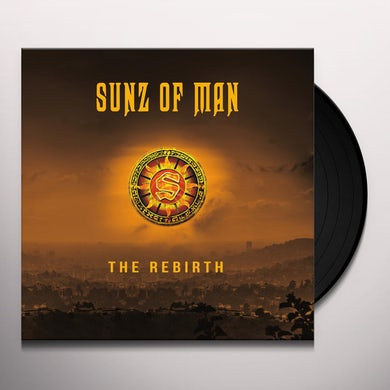 Sunz Of Man REBIRTH Vinyl Record