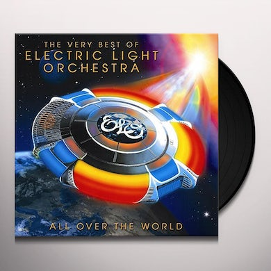 ELO (Electric Light Orchestra) ALL OVER THE WORLD: VERY BEST OF Vinyl Record