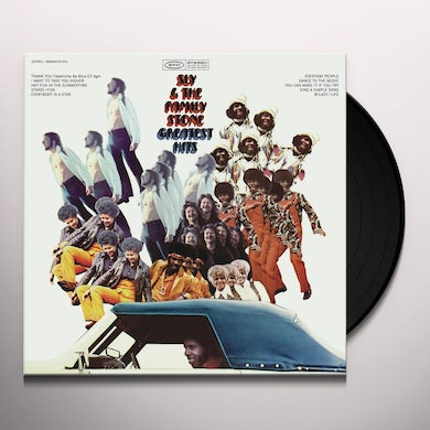 Sly & The Family Stone GREATEST HITS (1970) Vinyl Record