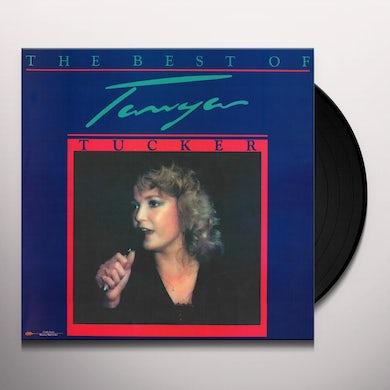 THE BEST OF TANYA TUCKER Vinyl Record