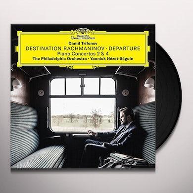 Daniil Trifonov DESTINATION RACHMANINOV - DEPARTURE Vinyl Record