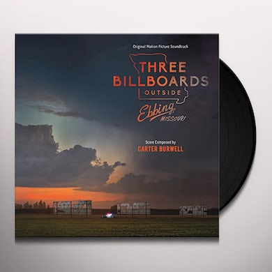 Carter Burwell THREE BILLBOARDS OUTSIDE EBBING MISSOURI / Original Soundtrack Vinyl Record