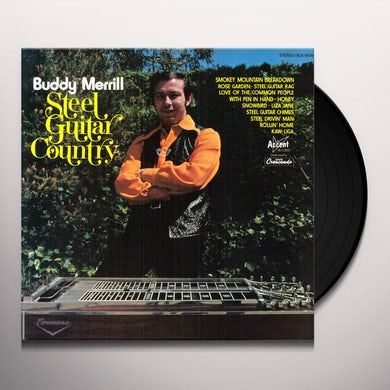 Buddy Merrill STEEL GUITAR COUNTRY Vinyl Record