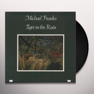 Michael Franks TIGER IN THE RAIN Vinyl Record