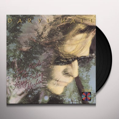 Daryl Hall 3 HEARTS IN THE HAPPY ENDING MACHINE Vinyl Record