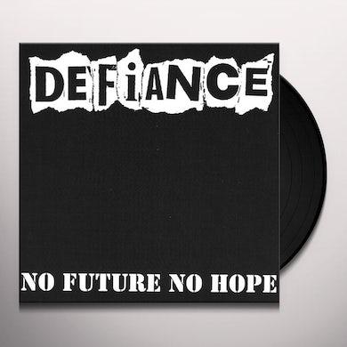 Defiance NO FUTURE NO HOPE Vinyl Record