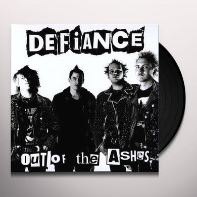 Defiance OUT OF THE ASHES Vinyl Record