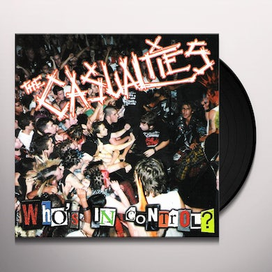 The Casualties WHO'S IN CONTROL Vinyl Record