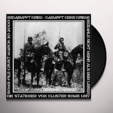 Cluster Bomb Unit DIE STATIONEN VON C.B.U. Vinyl Record