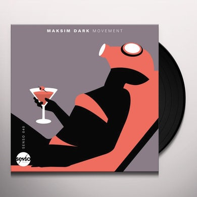 Maksim Dark MOVEMENT Vinyl Record