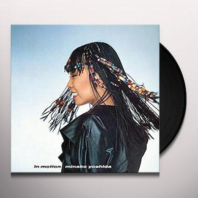 Minako Yoshido IN MOTION Vinyl Record