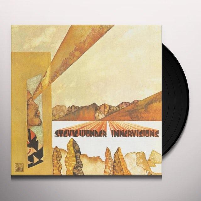 Stevie Wonder INNER VISIONS Vinyl Record - Japan Release