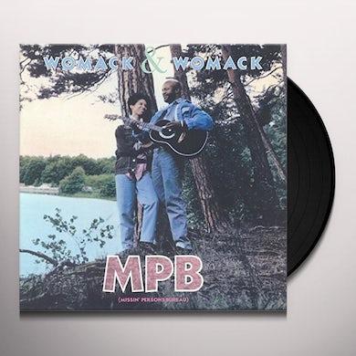 Womack & Womack MISSIN PERSONS BEREAU Vinyl Record