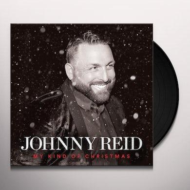 Johnny Reid MY KIND OF CHRISTMAS Vinyl Record