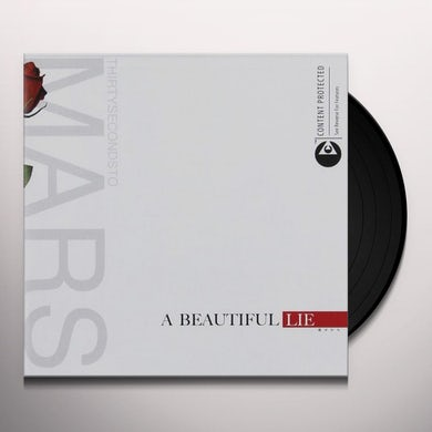 Thirty Seconds To Mars BEAUTIFUL LIE Vinyl Record