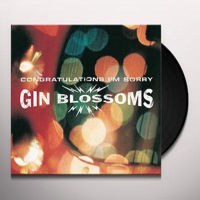 CONGRATULATIONS I'M SORRY Vinyl Record