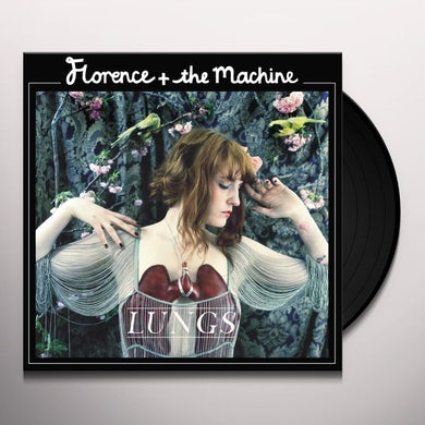 Florence and The Machine Lungs (LP)(Red) Vinyl Record